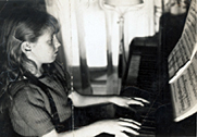 A lifelong love of piano and performance began at an early age